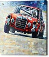 1971 Mercedes-benz Amg 300sel Acrylic Print