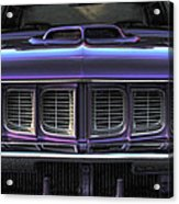 1971 Plymouth 'cuda 440 Acrylic Print by Gordon Dean II