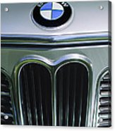1972 Bmw 2000 Tii Touring Grille Emblem Acrylic Print