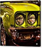 1972 Buick Skylark Custom Convertible Acrylic Print