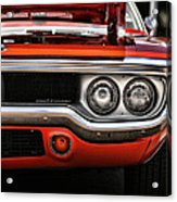 1972 Plymouth Road Runner Acrylic Print