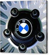 1973 Bwm 3.0 Csl Wheel Emblem Acrylic Print