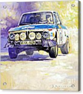 1973 Rallye Of Portugal Bmw 2002 Warmbold Davenport Acrylic Print