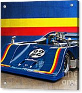 1974 Can-am Sting Gw1 Acrylic Print