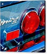 1974 Ferrari Dino Targa Gts Taillight Emblem Acrylic Print