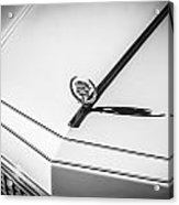 1976 Cadillac Eldorado Bw   Acrylic Print