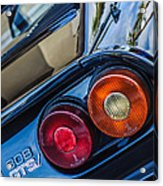 1980 Ferrari 308 Gtsi Taillight Emblem -0036c Acrylic Print
