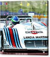 1982 Lancia Lc1 Martini Acrylic Print