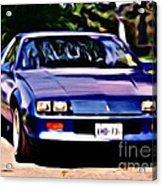 1985 Chev Camero Acrylic Print