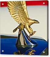 1986 Zimmer Golden Spirit Hood Ornament Acrylic Print by Jill Reger