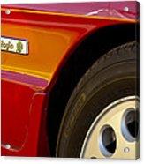 1988 Alfa Romeo Spider Quad Emblem Acrylic Print by Jill Reger