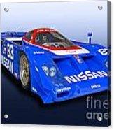 1988 Nissan Zx-gtp Race Car Acrylic Print