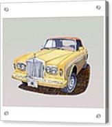 1988 Rolls  Royce's Corniche Convertible  Acrylic Print