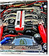 1990 Nissan 300 Zx Import Car Of The Year Acrylic Print