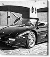1997 Ferrari F 355 Spider -008bw Acrylic Print
