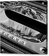 1997 Ferrari F 355 Spider Rear Emblem -117bw Acrylic Print