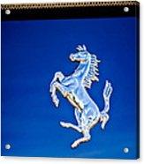 1997 Ferrari F 355 Spider Taillight Emblem -135c Acrylic Print