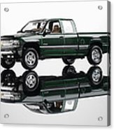 1999 Chevy Silverado Truck Acrylic Print