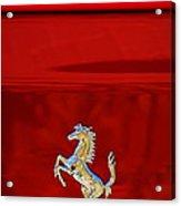 1999 Ferrari 550 Maranello Emblem -651c Acrylic Print