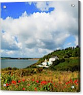 19th Century Duncannon Lighthouse Acrylic Print