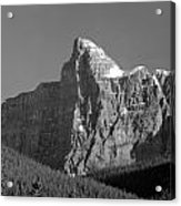 1m3621-bw-v-outlier Of Mt. Murchison Acrylic Print