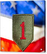 1st Infantry Division Acrylic Print