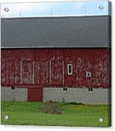Large Red Barn Acrylic Print