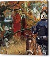 Alaskan Malamute Art Canvas Print Acrylic Print