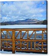 Winter At Chocorua Lake  Acrylic Print