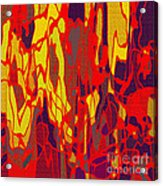 0656 Abstract Thought Acrylic Print