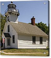 1870 Mission Point Lighthouse Acrylic Print