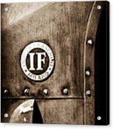 1913 Isotta Fraschini Tipo Im Emblem Acrylic Print
