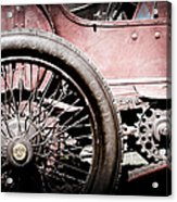 1913 Isotta Fraschini Tipo Im Wheel Acrylic Print
