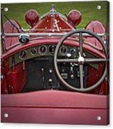 1931 Alfa Romeo Acrylic Print