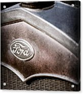 1931 Ford Grille Emblem Acrylic Print