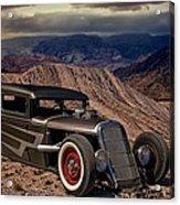 1931 Ford Hot Rod Sedan Acrylic Print