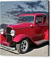 1932 Ford '5 Window' Coupe Acrylic Print