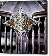 1933 Chrysler Sedan Grille Emblem Acrylic Print