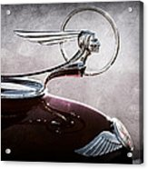 1933 Pontiac Hood Ornament Acrylic Print
