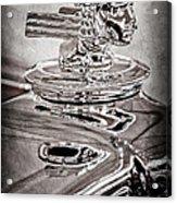 1933 Stutz Dv-32 Dual Cowl Phaeton Hood Ornament Acrylic Print