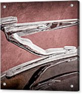 1936 Auburn Speedster Replica Hood Ornament Acrylic Print