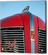 1937 Buick Boattail Roadster Grille Emblems Acrylic Print