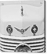 1937 Cord 812 Sc Convertible Phaeton Sedan Grille Emblems Acrylic Print
