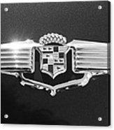 1941 Cadillac Emblem Acrylic Print by Jill Reger