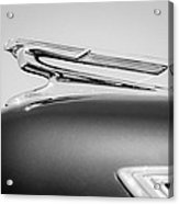 1941 Chevrolet Hood Ornament Acrylic Print