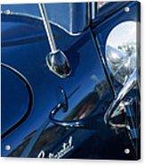 1941 Lincoln Continental Convertible Emblem Acrylic Print