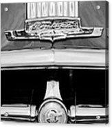 1950 Pontiac Grille Emblem Acrylic Print