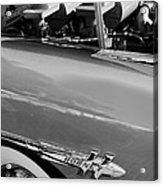 1953 Hudson Hornet Sedan Engine Acrylic Print