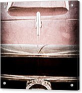 1953 Nash-healey Roadster Grille Emblem Acrylic Print