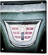 1956 Dodge Emblem Acrylic Print